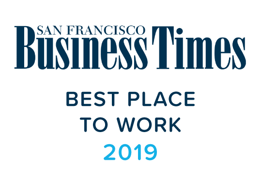 Silicon Valley Business Journal Best Place to Work in 2019