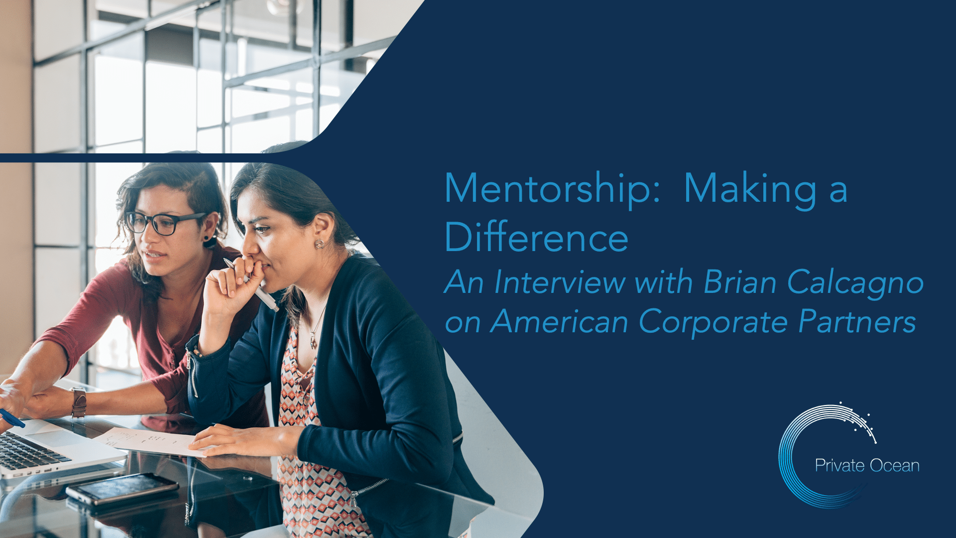 Mentorship: Making a Difference