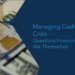 Managing Cash During Crisis